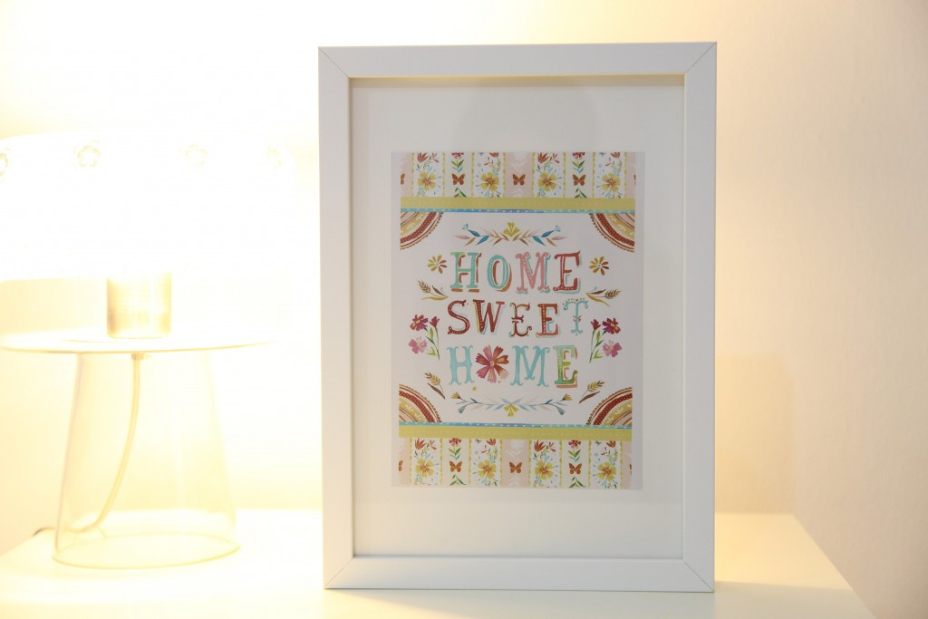 poster-home sweet home